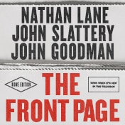 Front Page Play Nathan Lane Broadway Show Tickets